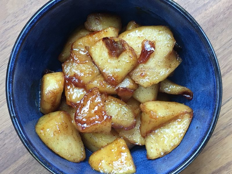Fried Apples   Future Expat