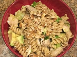 Chicken Pasta with Curry Dressing | Future Expat