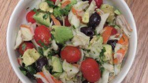 Imitation Crab and Avocado Salad | Future Expat