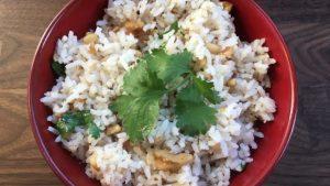 Indian Garlic Rice | Future Expat