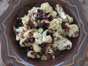 Roasted Cauliflower with Pine Nuts | Future Expat