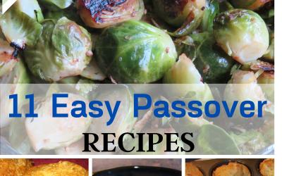 11 Easy Passover Recipes